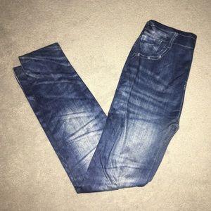 Fleece-lined Leggings that look like jeans!
